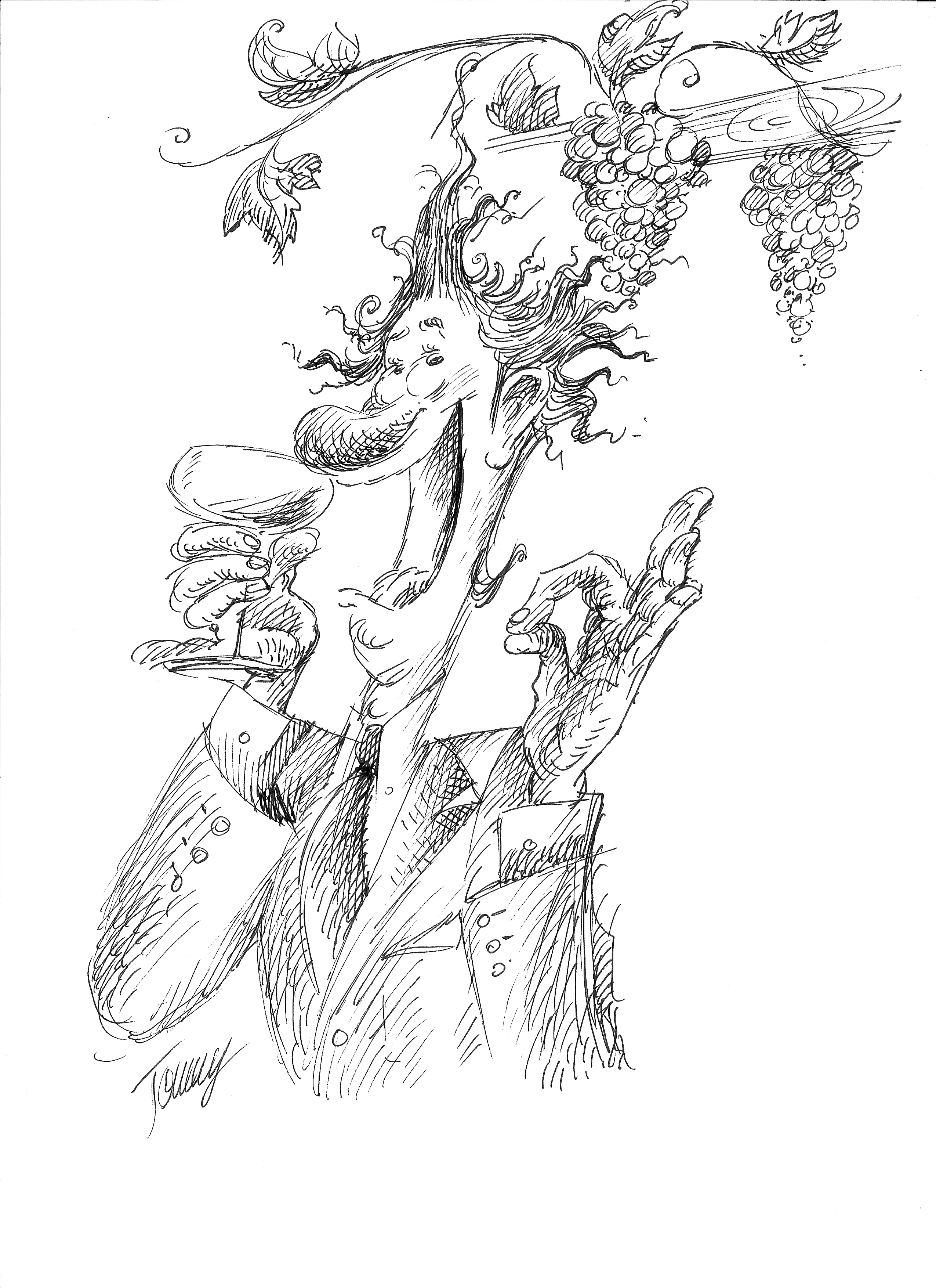 disegno di Tommaso Eppesteingher
